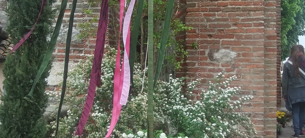 Castellaro Laguesello: Borgo in fiore